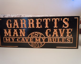 Personalized Man Cave Signs Etsy : Man cave workshop etsy
