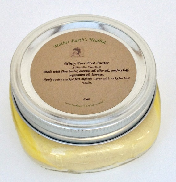 Shea butter for dry feet