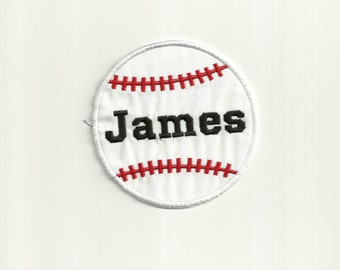 Your Name or Initial on a Baseball Patch! Custom Made! AP128