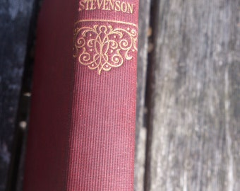 vintage book R.L.Stevenson In The South Seas