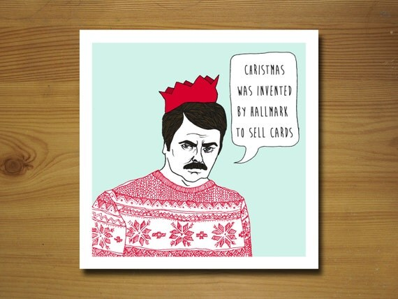christmas card invented by