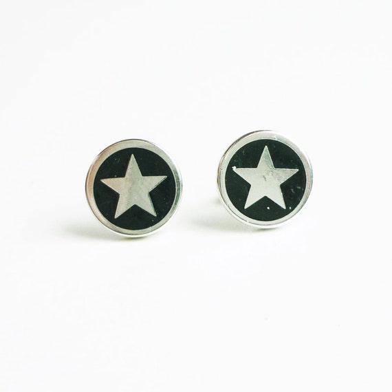 captain america earrings captain america earrings stud earrings mens jewelry 6153