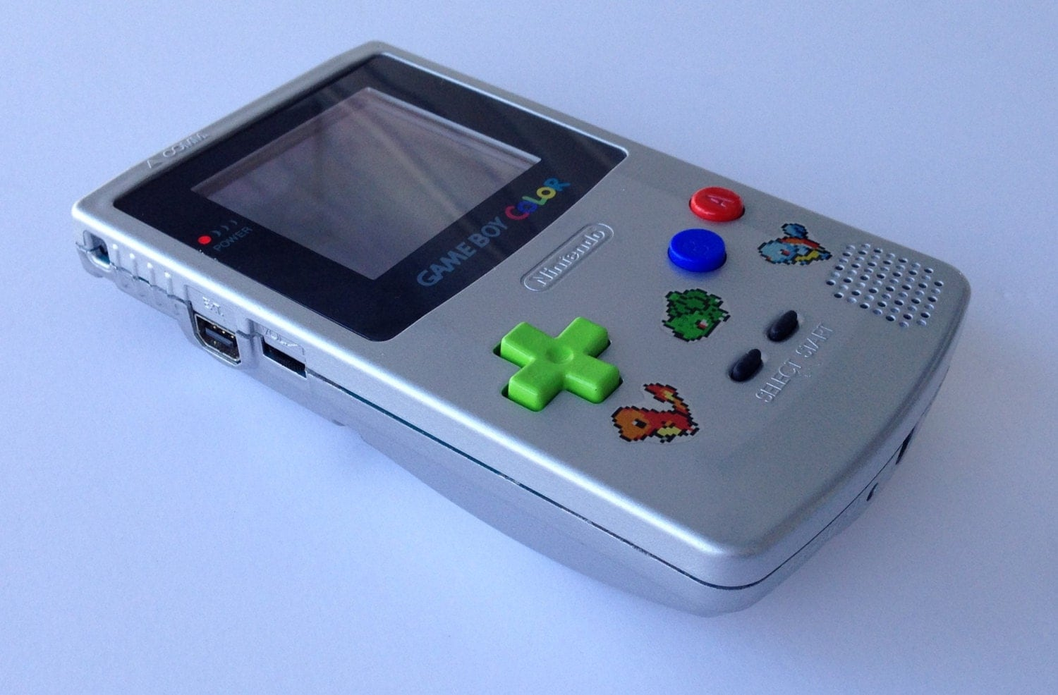 Custom Frontlit Nintendo Gameboy Color Pokemon For Retro For Gameboy Color