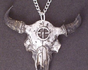 New  Design Mystic Bison Skull .... Big Medicine..... New Contest for my Followers