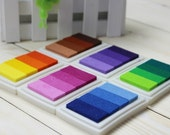 1pc Craft Colorful Ink Pad Set - Stamp Ink Pad - Stamp Pad - 6 colors for choose