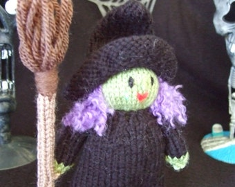 knitted Halloween character