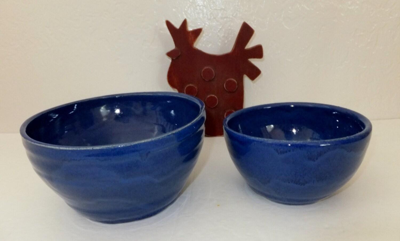 exotic blue indigo ceramic mixing bowl set serving bowls. Black Bedroom Furniture Sets. Home Design Ideas