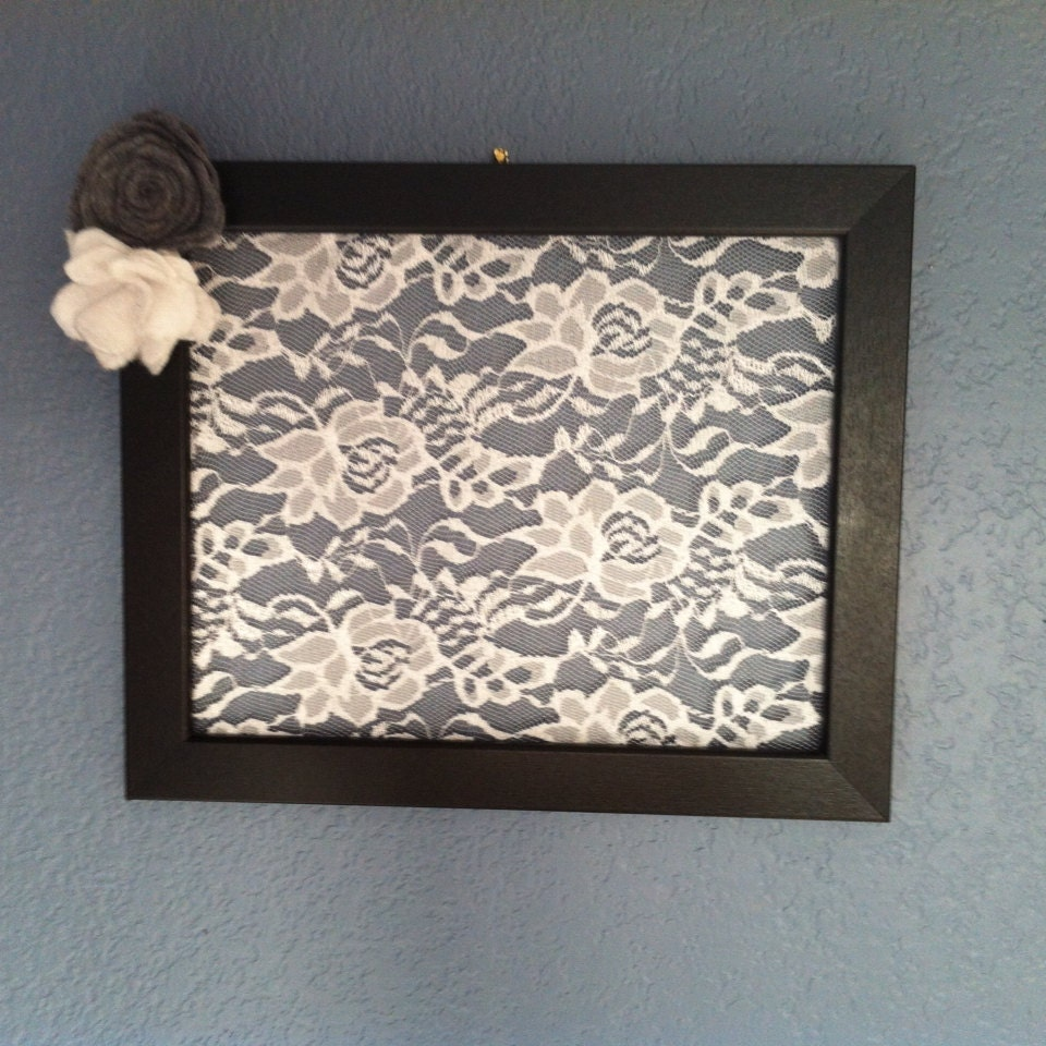 lace earring holder by krystalsheart2home on etsy
