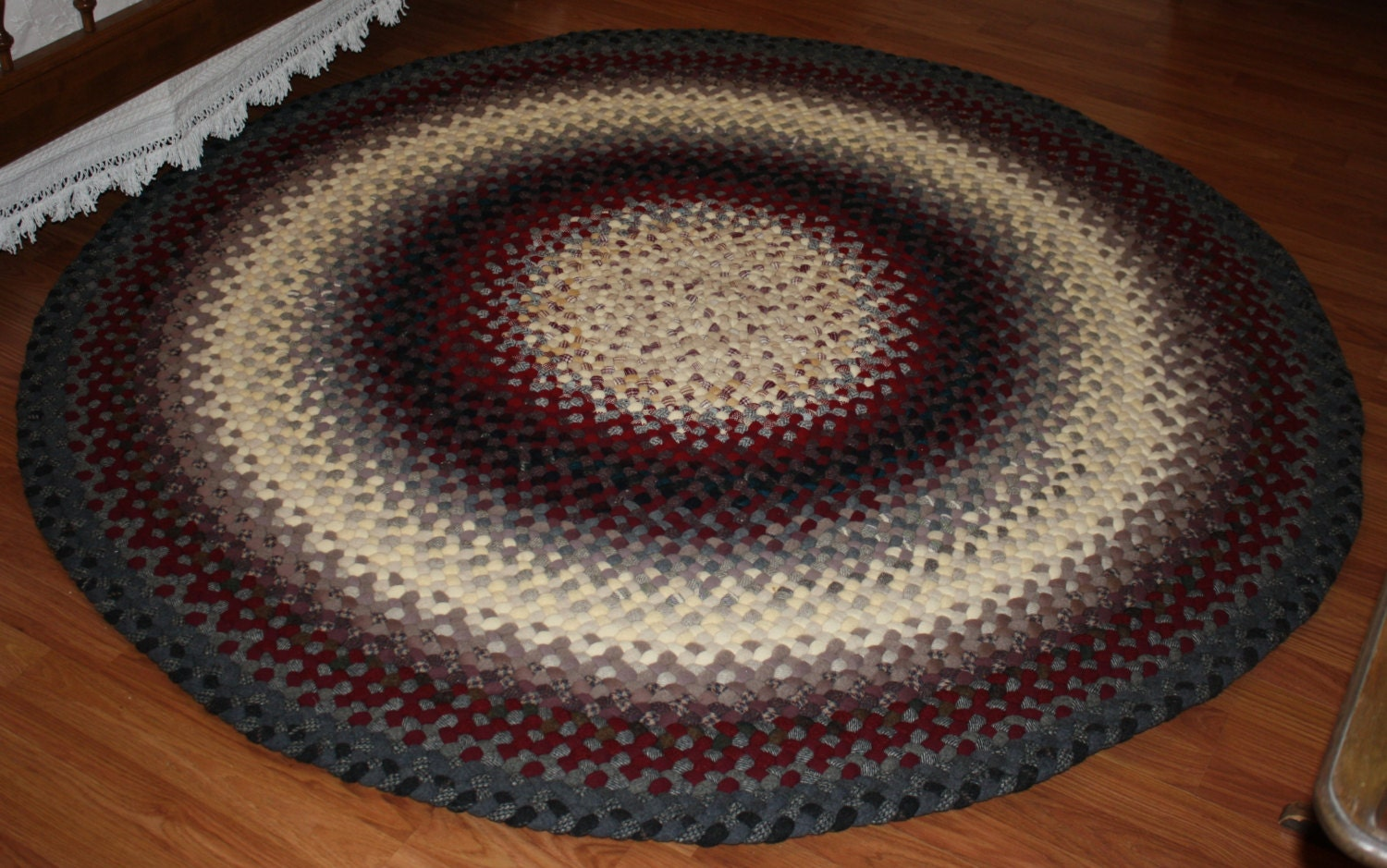 28 round wool braided rugs fantastic s hand braided wo