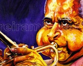 Dizzy Gillespie Portrait...