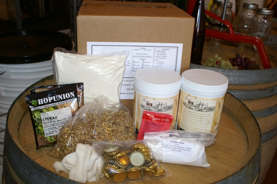 Belgian Style Golden Ale Complete Beer Brewing Ingredient Kit- Makes 5 Gallons