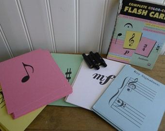 La, La, La...music student kit = pitch pipe + flash cards
