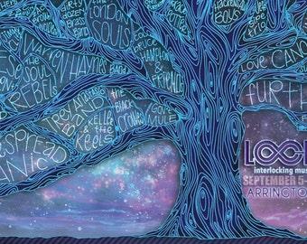 "LOCKN'  MUSIC FESTIVAL | 2013 Poster Print 11x17"""