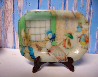 Beatrix Potter Tray for  Dollhouse 1:12 Scale
