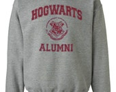 Hogwarts Alumni Gray Sweatshirt