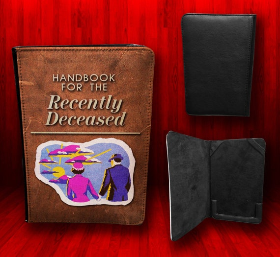 Printable Book Cover Handbook For The Recently Deceased : Beetlejuice handbook for the recently deceased by