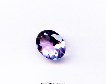 Natural  African 10 x 8 mm faceted oval Amethyst