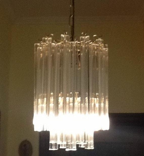 lampadari venini : COPPIA LAMPADARI in stile VENINI autentici anni 60 by Box900