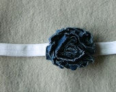 CLEARANCE - Ready to Ship.  Shabby Chic - Denim - SIZE 2 years - teen