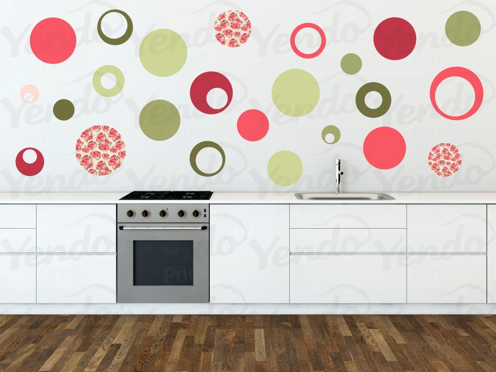 Wall decals for kids bedroom polka dot wall decals wall for Polka dot wall decals for kids rooms