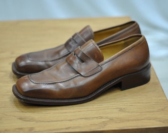 Vintage ALDROVANDI handmade shoes in Italy  ...(021)