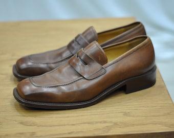 Vintage ALDROVANDI handmade shoes in Italy  ...(021)