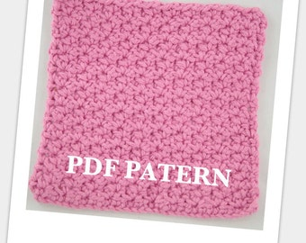 Dish Cloth PDF PATTERN Cotton Wash Cloth Dish Towl