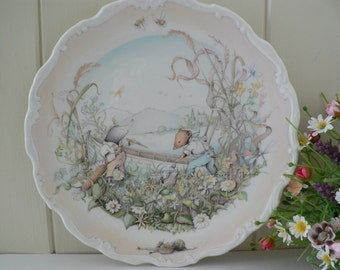 Wind in the Willows 1984 vintage plate, Preparations for the boating season, Royal Doulton, Nursery keepsake,Ratty and Mole,Nursery gift