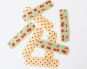 Washi Bandages - Cherries, Mint, Polka Dot, Red, Kids, Children, Accessories, Get Well