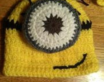 Crochet Minion Costume