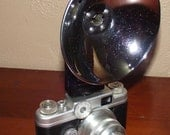 Vintage Argus C4 Film Camera and Flash