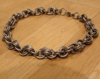 Titanium Chainmail Rope Anklet