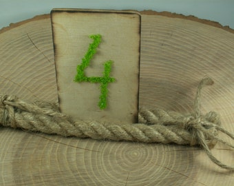 Burlap Rustic 6 Table Number, Wedding Table Numbers, Holiday Dinner Rustic  Christmas decor