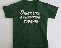 Drink Irish shirt for Notre Dame and Irish fans T Shirt