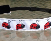 Ladybug Non-slip headband adjustable size