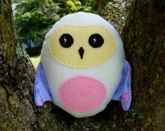 Stuffed Owl Baby Toy