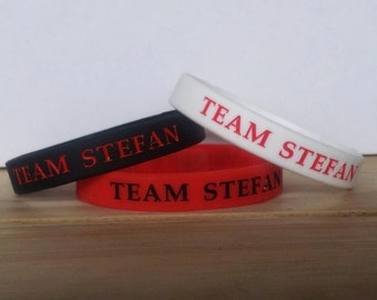 The Vampire Diaries Team Stefan Silicone Wristband
