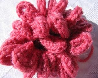 Knitted Hair Scrunchies OOAK