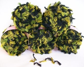 Sassy Skein Knitted Green 'A Star is Born' Children's Cotton Sweater Hoodie 28
