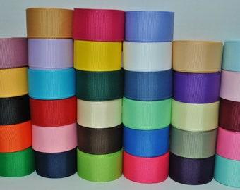"wholesale grosgrain ribbon solid color 7/8"" -33yards-"