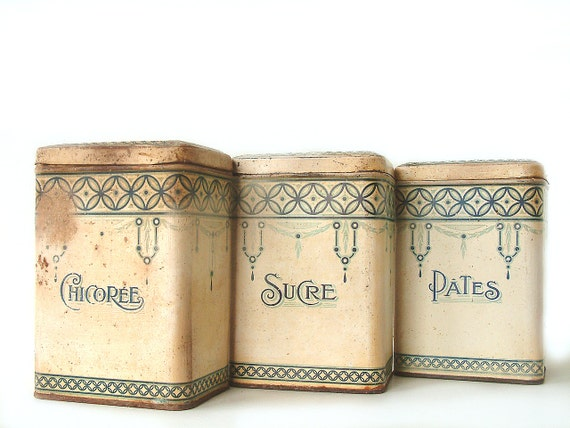 vintage french country kitchen canisters vintage white enamel canister set french country farm