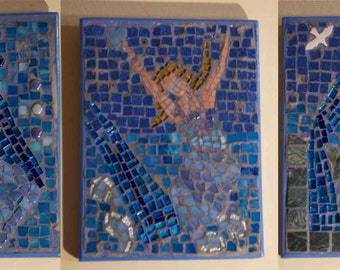 Mermaid Mosaic - set of pictures