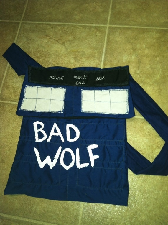 Bad Wolf TARDIS purse bag