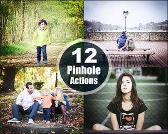 Pinhole Photoshop Elements Actions