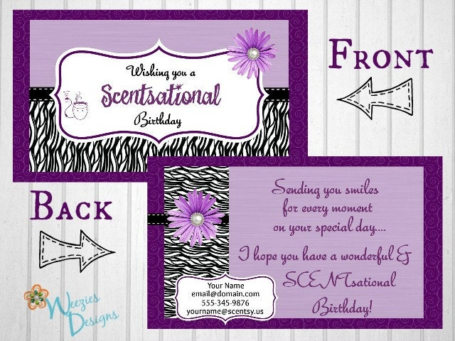 Birthday Card Direct Sales Marketing Independant by