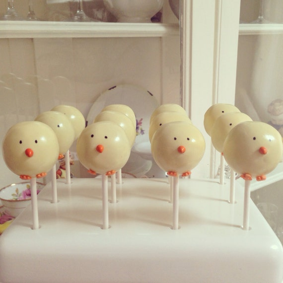 Chick Cake Pops Images : Chick Cake Pop by Baker Girl NYC Catch My Party