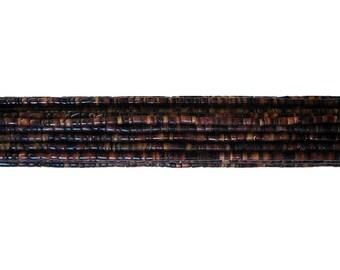 Black Pen Shell Heishi Beads (2- 3mm, 24 Inches Strand)