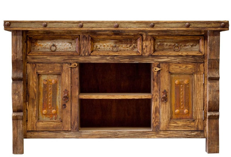 Tv Console Rustic Tv Console Media Console By