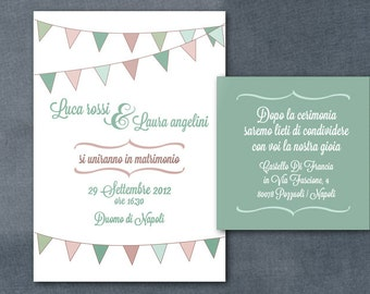 Wedding printable invitation