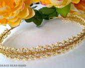 2 in 1 Wirework  Jewelry Tutorial ~ Lotus Tiara & Kelly Grace Head Band